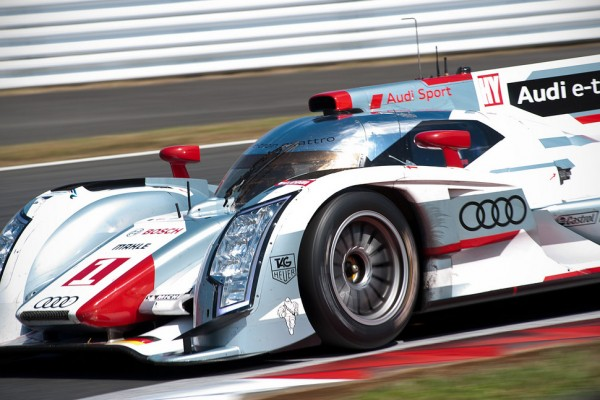 Audi R18 e-tron quattro fastest on Friday in Fuji