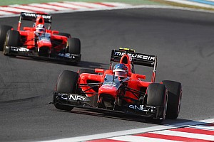 Formula 1 Practice report Challenging Friday Practice for Marussia at Yeongam circuit