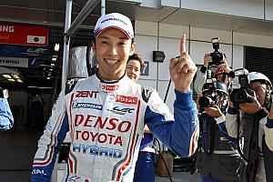 WEC Qualifying report Nakajima hands Toyota pole for the Six Hours of Fuji