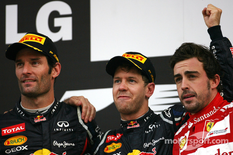 Vettel seals victory at Korean GP to take championship lead