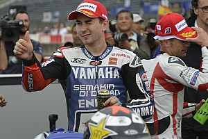 MotoGP Race report Lorenzo scores second for Yamaha in Motegi