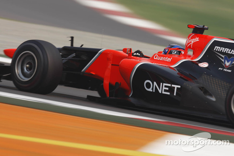 Marussia qualifying on Indian GP fighting with the lack of KERS