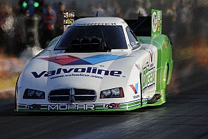 NHRA Race report Beckman maintains four-point lead heading to finale