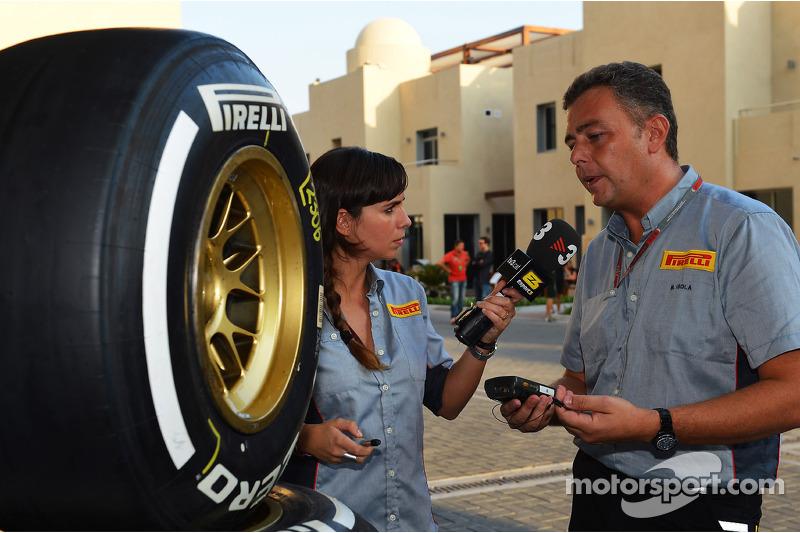 Half a second separates medium and soft Pirelli tyres in Abu Dhabi