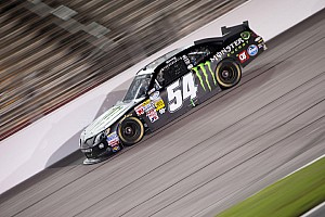 Kyle Busch takes third in KBM Toyota at Texas