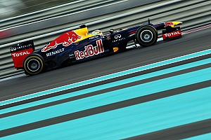 Formula 1 Testing report Red Bull put Young Driver Frijns in the RB8 for final day of testing at Abu Dhabi