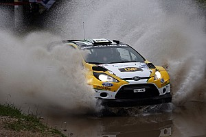 WRC Leg report Oliveira with no luck in a treacherous opening day in Spain