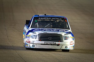 NASCAR Truck Preview Quiroga ready for his second start  at HMS in the season finale