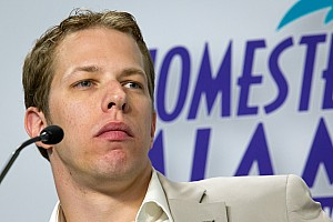 NASCAR Sprint Cup Interview Keselowski focused on winning first Cup championship in Homestead