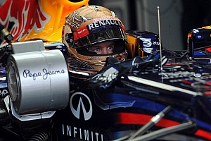 Red Bull Renault ends USGP second practice 1-2 with Vettel fastest