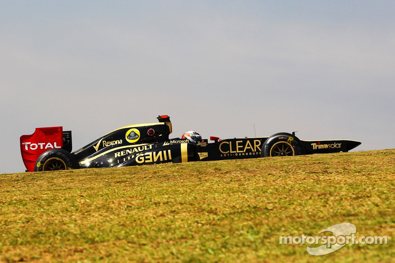Lotus had on Friday an encouraging start to the weekend in São Paulo
