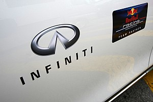 Red Bull signs Infiniti as title sponsor