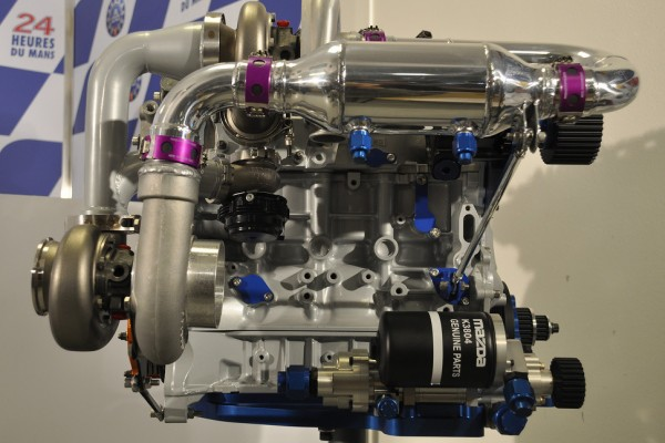 Mazda to showcase their SKYACTIV-D engine in Grand-Am 2013 GX class