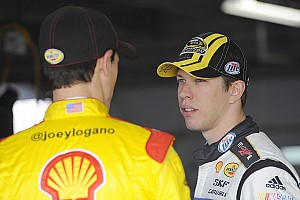 NASCAR Sprint Cup Interview Keselowski comments on new Ford at end of first session in Charlotte testing