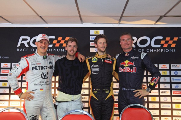 Schumacher and Vettel aim for six ROC wins in a row at Bangkok