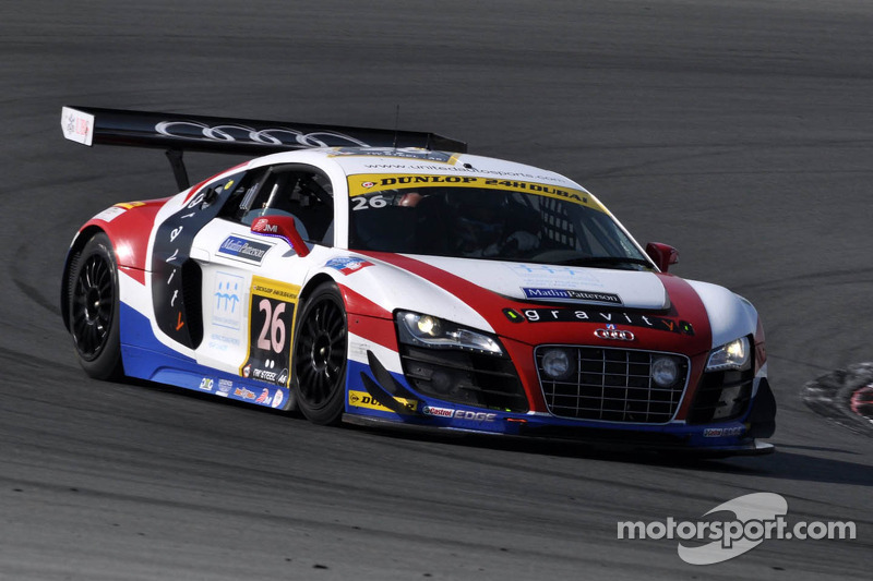 Luck deserts United Autosports in the Gulf 12 Hours in Abu Dhabi