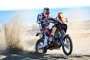 Dakar Breaking news A clear path to Santiago for Despres?
