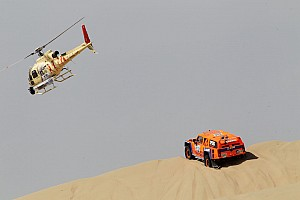 Dakar Stage report SPEED Energy's Gordon continues his bad luck on stage 2