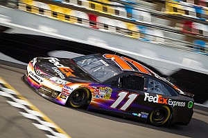 NASCAR Sprint Cup Testing report Joe Gibbs Racing tops on day one of Daytona testing