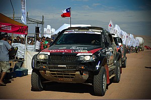 Dakar Stage report Terranova in the BMW X3 CC comes second on 8th stage