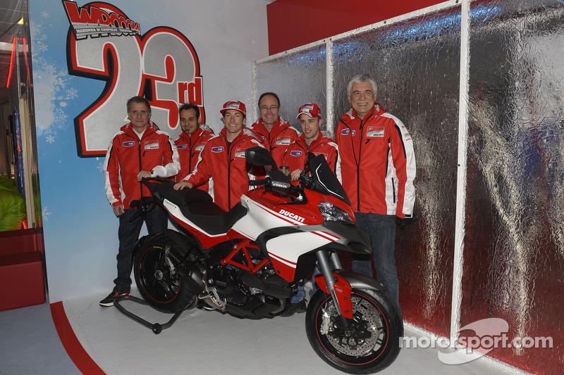 Ducati get 2013 campaign underway at Wroom 2013