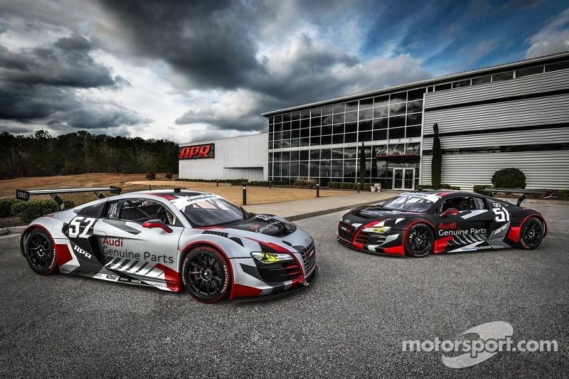 New-look APR Audi R8s set for 24 Hour attack on Daytona