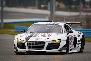 Grand-Am Preview WeatherTech/AJR Audi R8 poised for strong 24h at Daytona