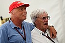 Ecclestone backs Mercedes shakeup