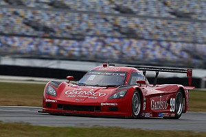 Grand-Am Interview Gurney comments at end of his first stint in Daytona