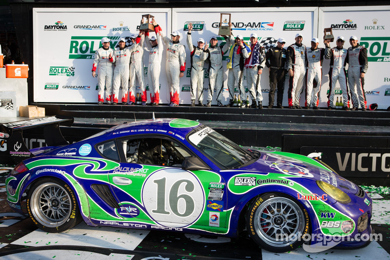 Napleton Racing delivers dominant GX class debut victory in Rolex 24 At Daytona