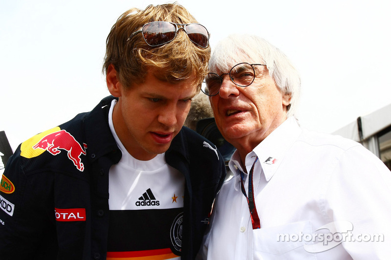 Ecclestone tips Vettel to beat Alonso again