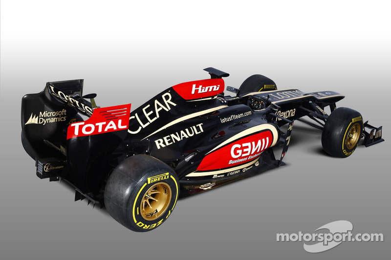 Lotus unleash E21 at Jerez