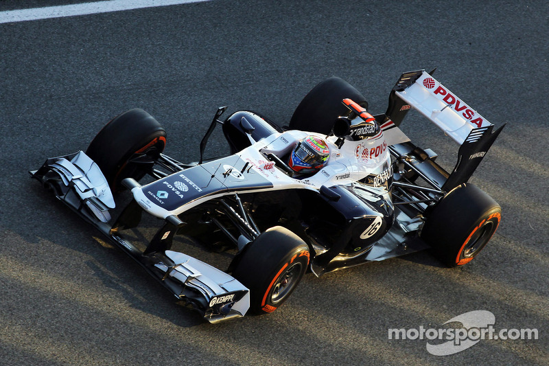 Williams - Jerez test day one