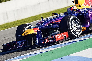 Webber wraps up his two days of testing in Jerez