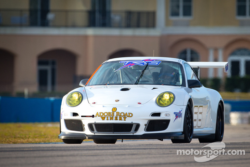 TRG fastest in GTC class on day one of winter testing at Sebring