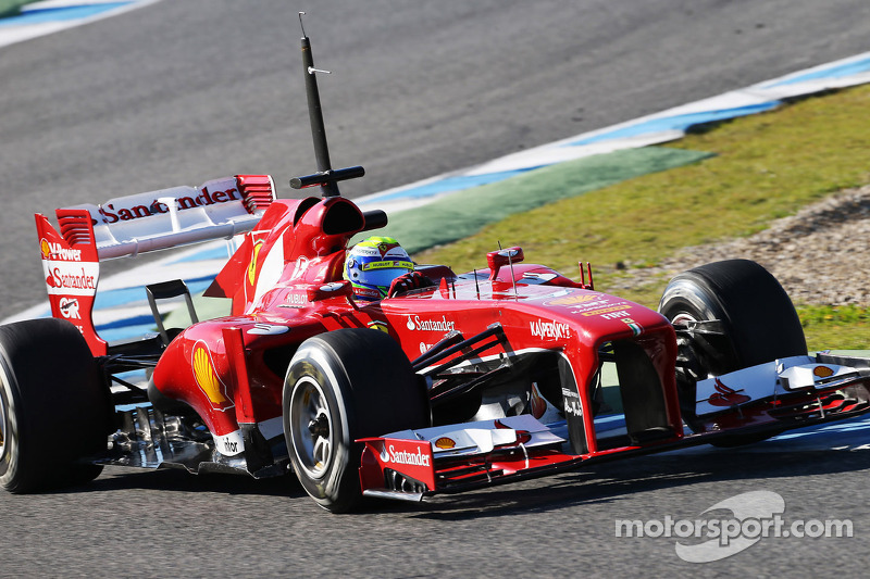 Second preseason test for Ferrari: Barcelona marks first for Alonso in F138