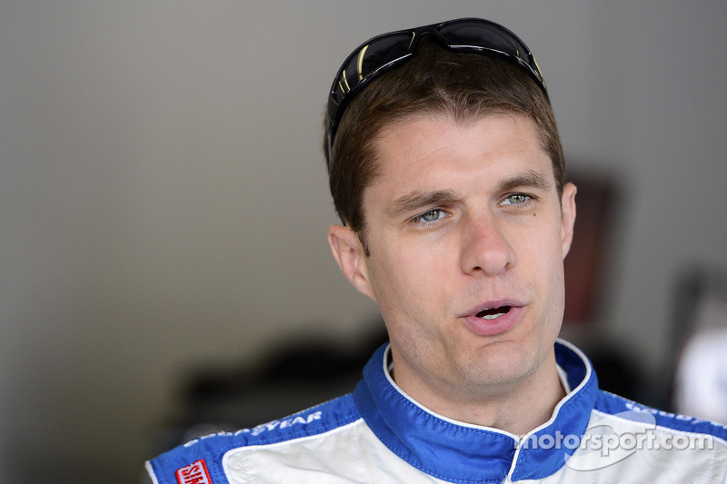 David Ragan looks to the flat track at the Phoenix 500