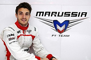 Formula 1 Breaking news Marussia F1 Team appoints Jules Bianchi to 2013 race seat