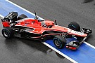 Despite the changeable conditions Marussia made progress on day two in Barcelona