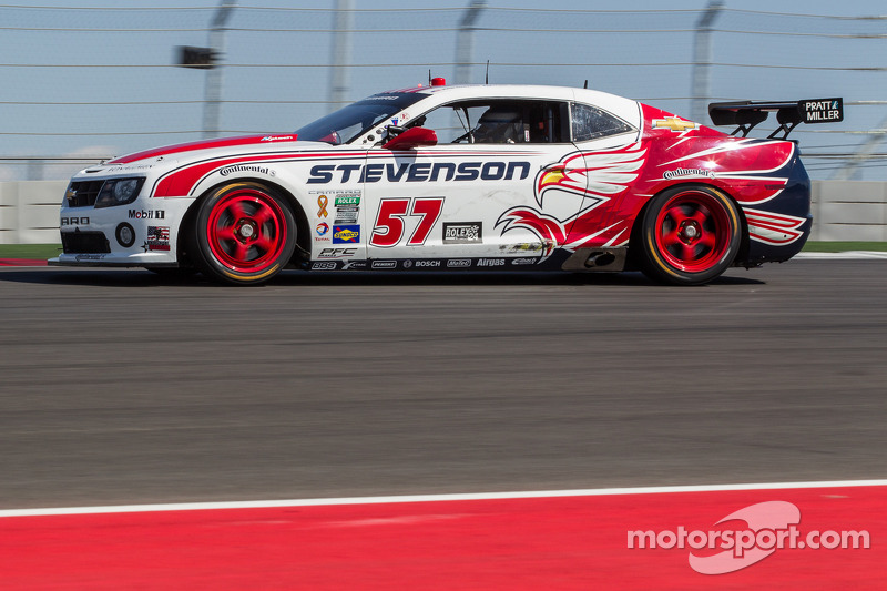 Stevenson Camaro ready to take on Texas' COTA