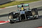 Hamilton sets the pace on the Circuit de Catalunya penultimate test day