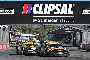 GT Race report Baird wins with safety car a close second in Australian GT race 1 in Adelaide