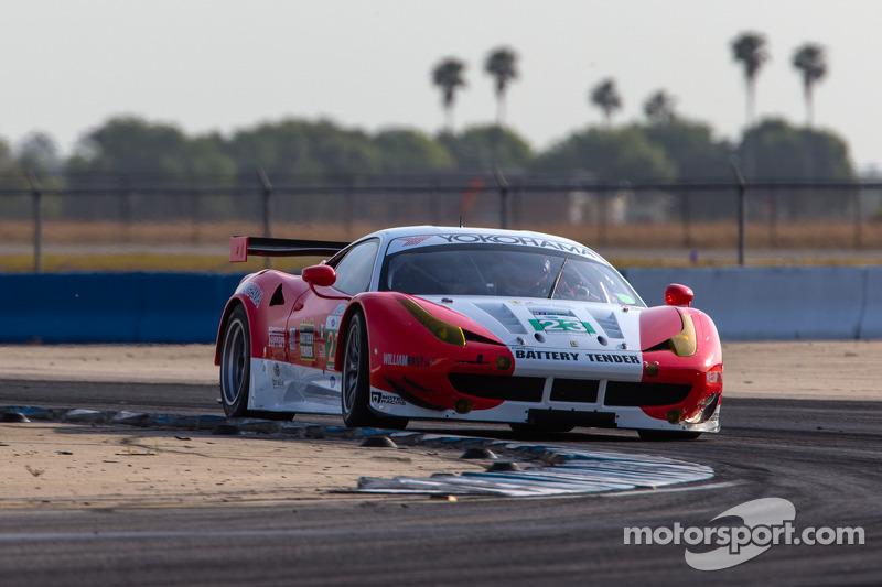 Alex Job Racing prepared for Sebring 12H