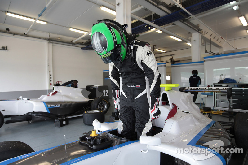 Roberto La Rocca drops GP3 for F3