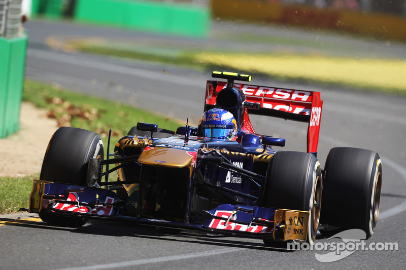 Scuderia Toro Rosso summary after fridays free practice at Albert Park