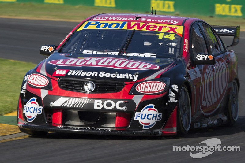 Holden's Coulthard claims race 1 at Albert Park
