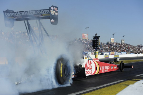Pedregon, Kalitta, Edwards and Smith are top qualifiers at Gatornationals on Friday