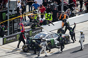 "Kyle Busch earns victory in the battle of the ""Kyles"" in Bristol 300"