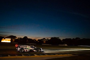 ALMS Race report Di Grassi, Audi lead with two hours to go at Sebring