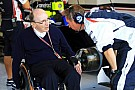 Williams' daughter shaping up as new team boss